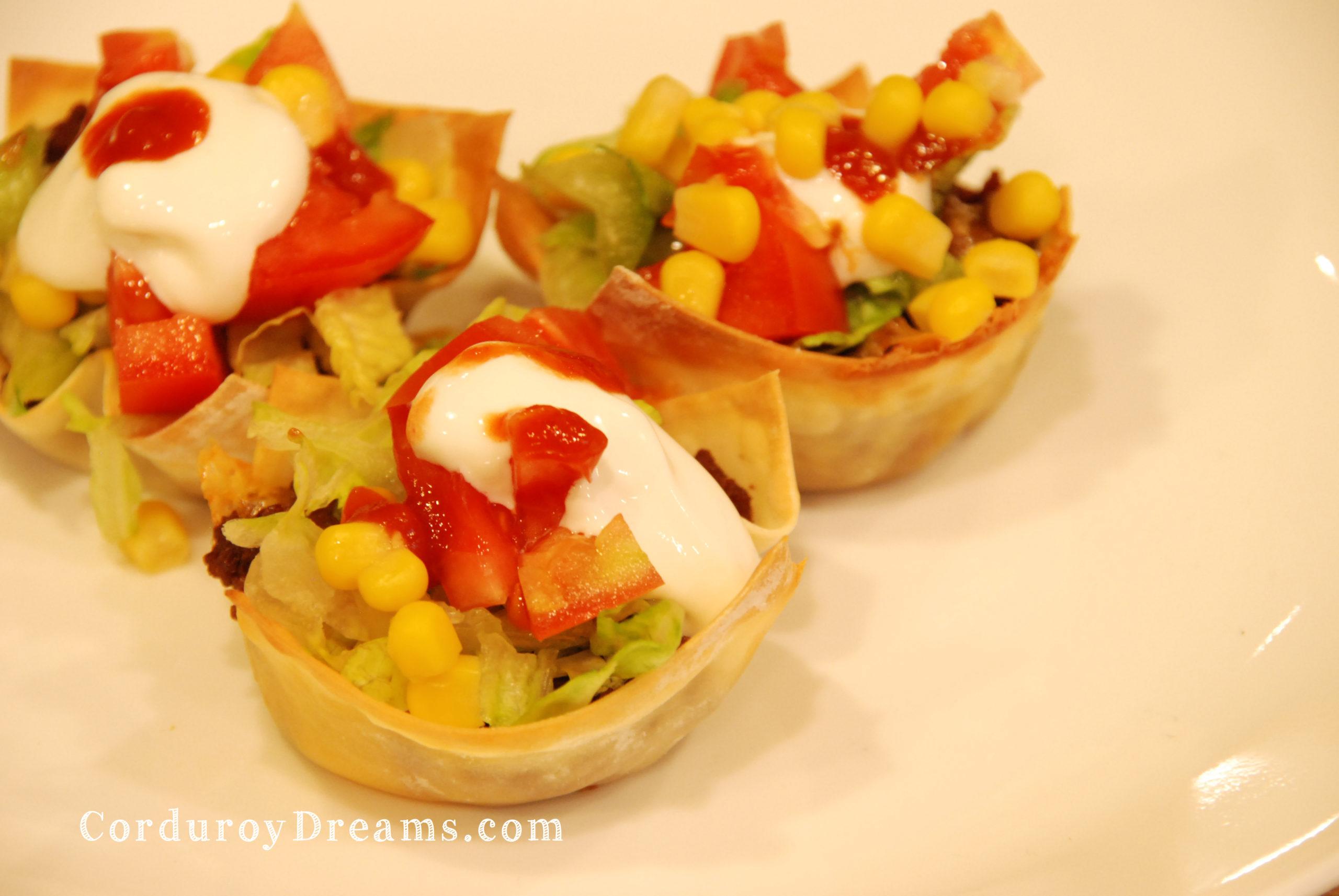 Mini Tacos {Recipe}