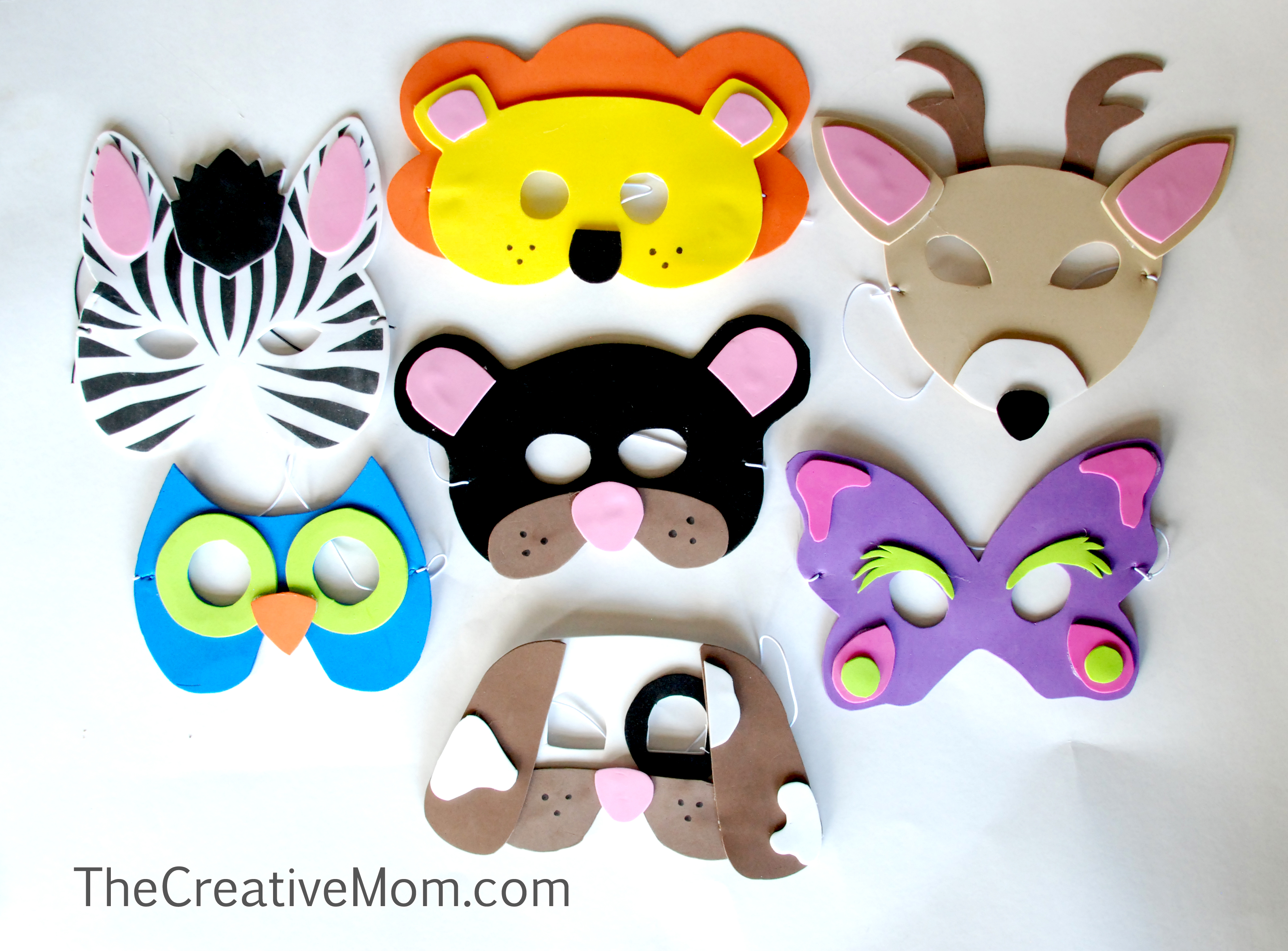 Quick and Easy Animal Masks