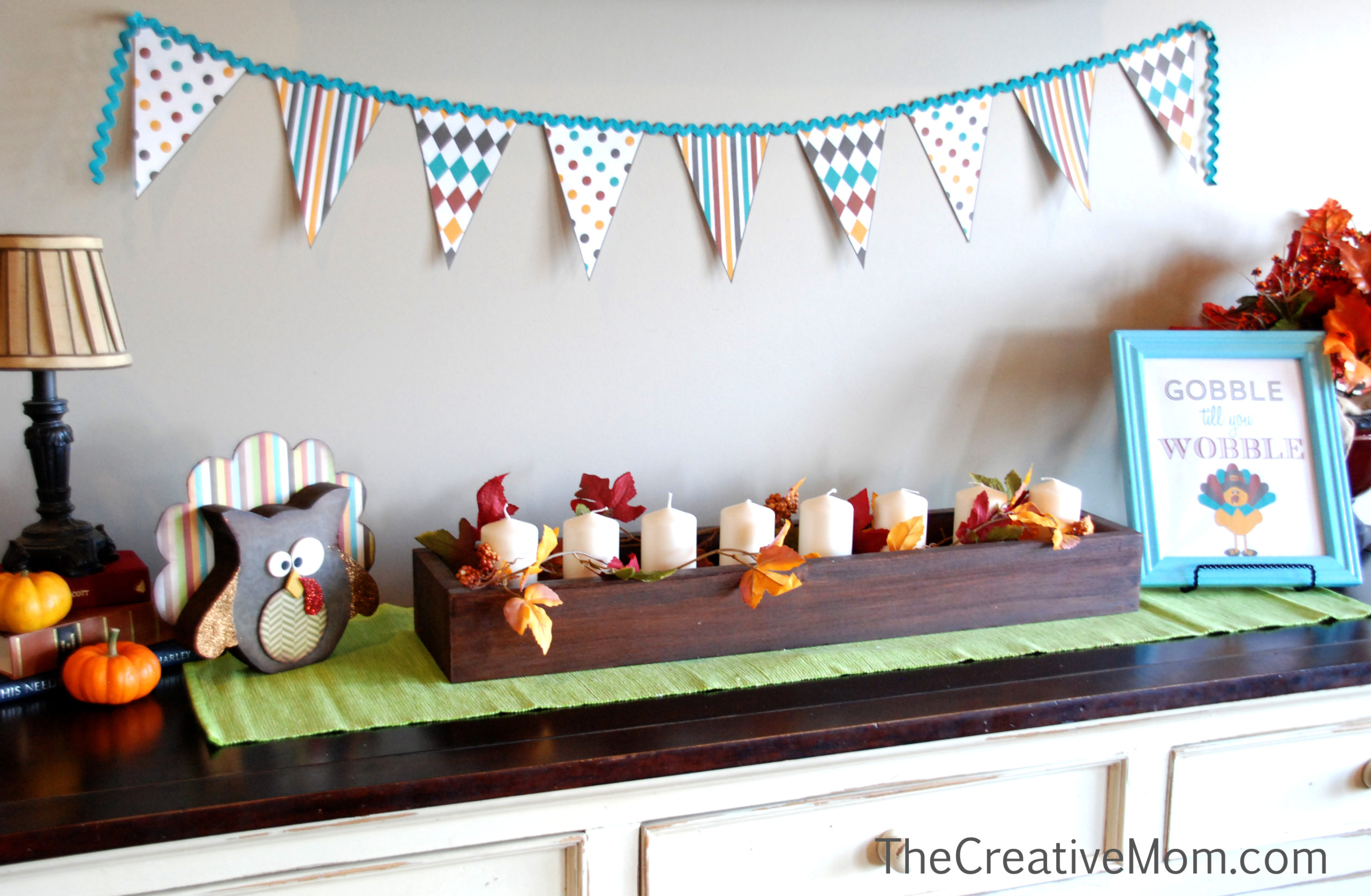 Thanksgiving Printable with Banner