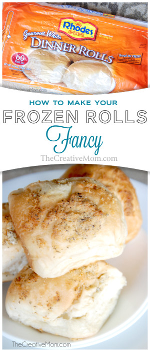 How To Make Your Frozen Rolls Fancy The Creative Mom