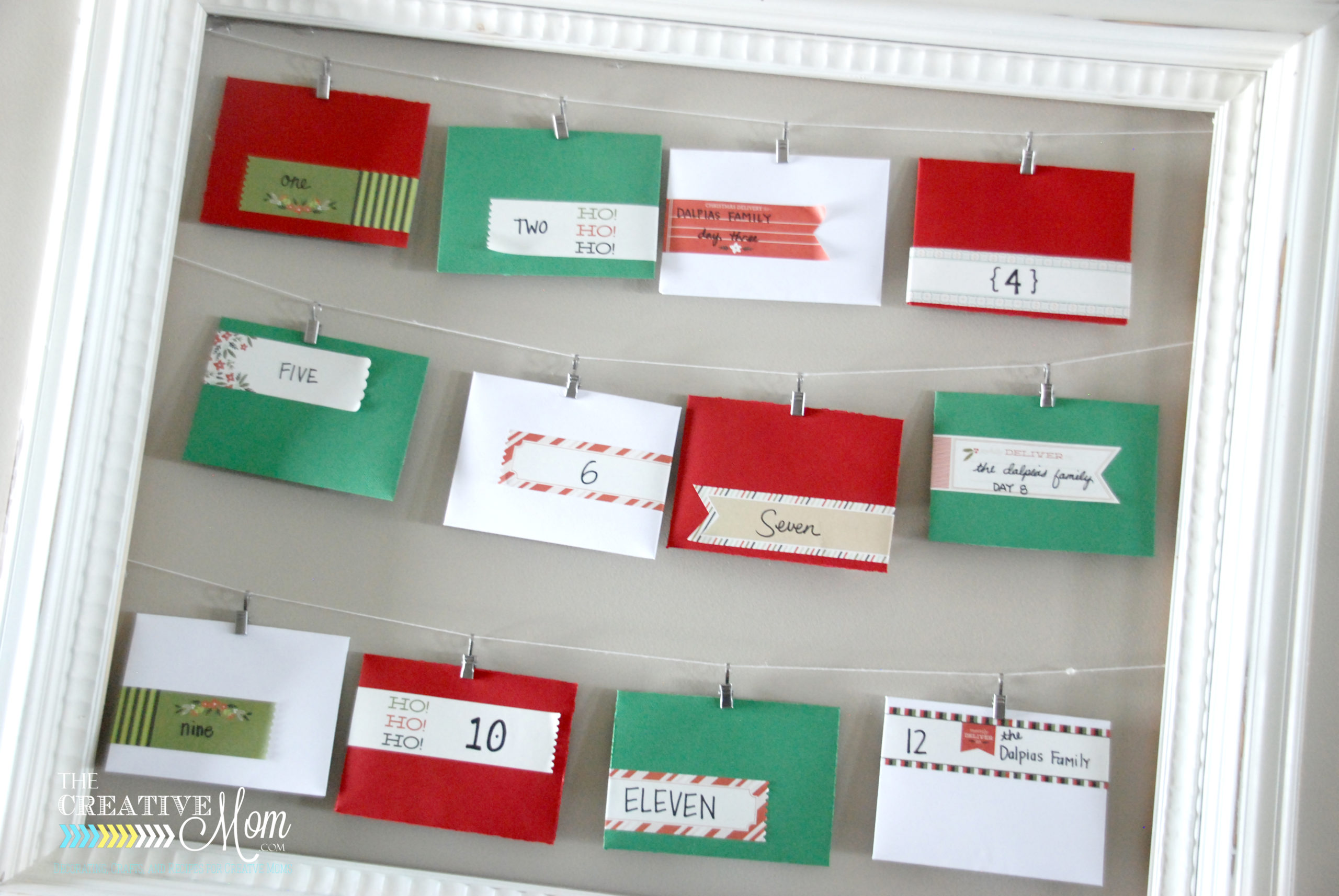 Christmas Advent Idea (and a giveaway!)