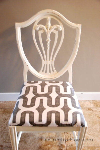 how to paint a chair chalk paint