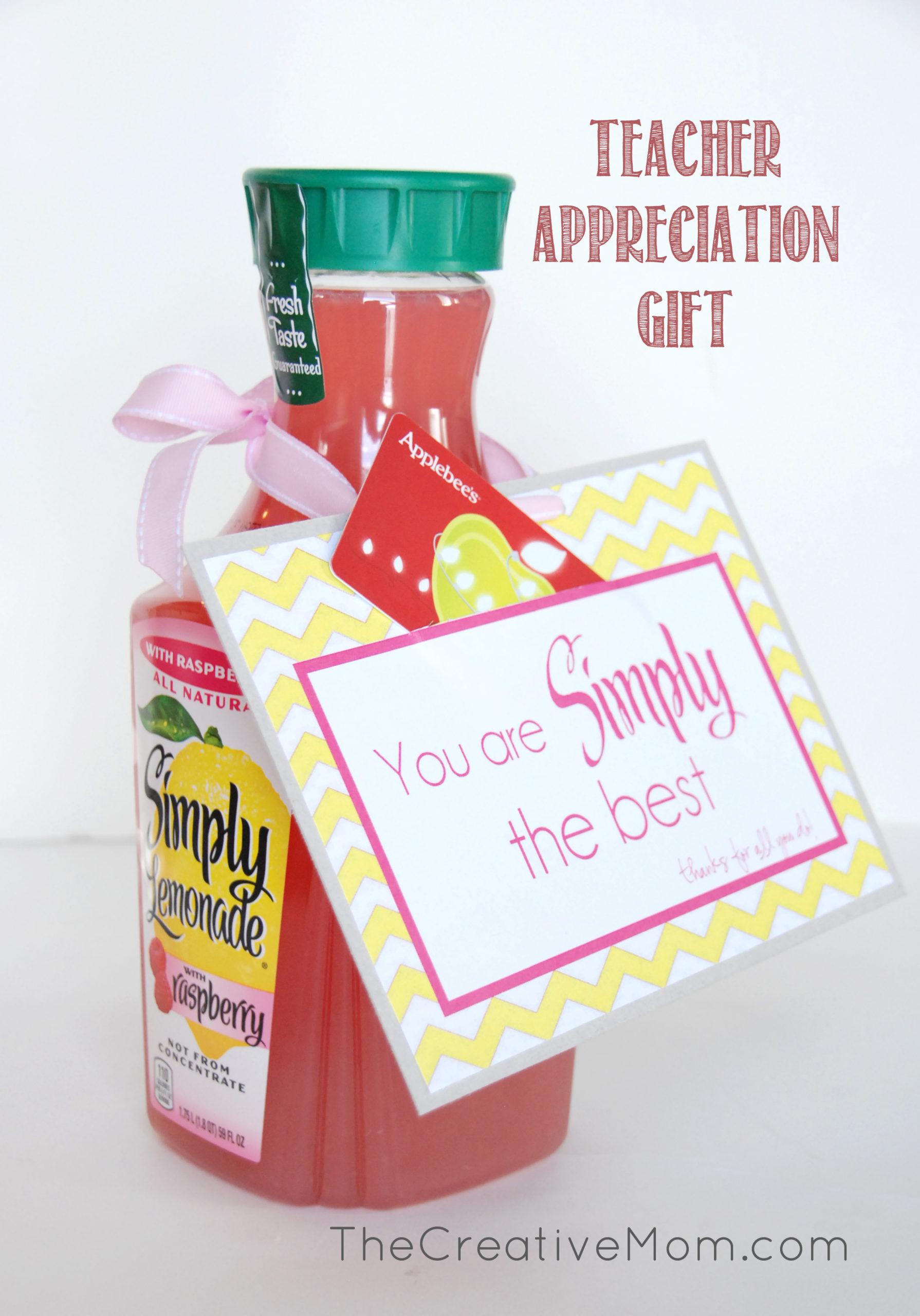 Simply The Best {teacher appreciation}