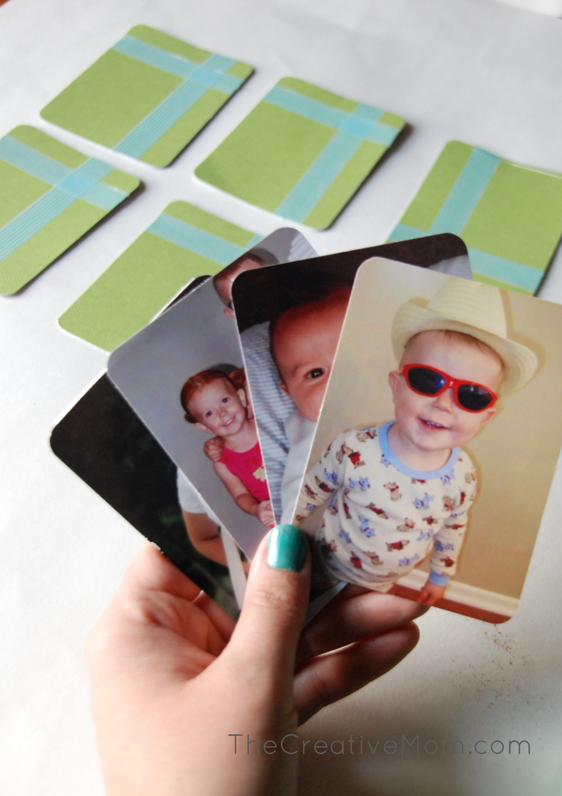 Make your own family card game {mothers day gift idea}