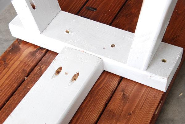 assemble bench