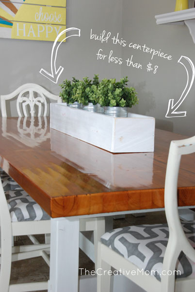 Diy planter box centerpiece build it for