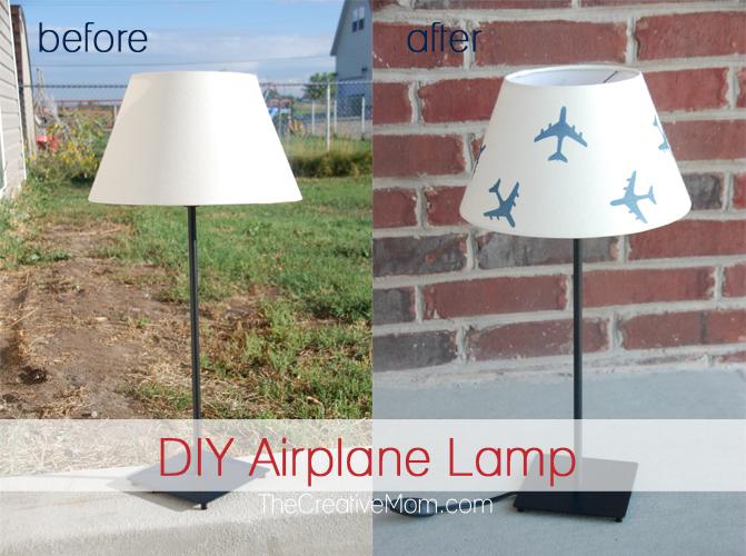 DIY Airplane Lamp (Ikea hack)