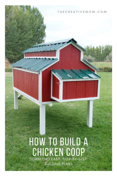 BUILD CHICKEN COOP