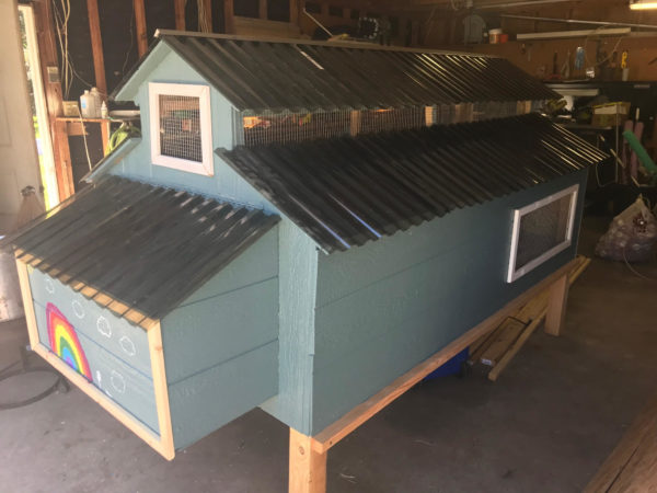 farmhouse chicken coop