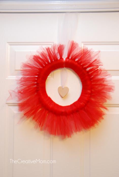 Tulle Wreath Tutorial The Creative Mom