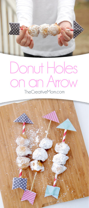 Donut Holes on an arrow