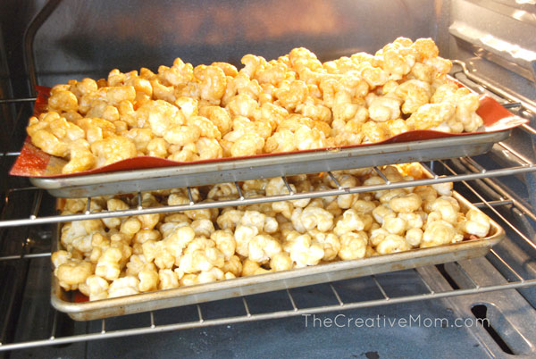 caramel corn puff recipe