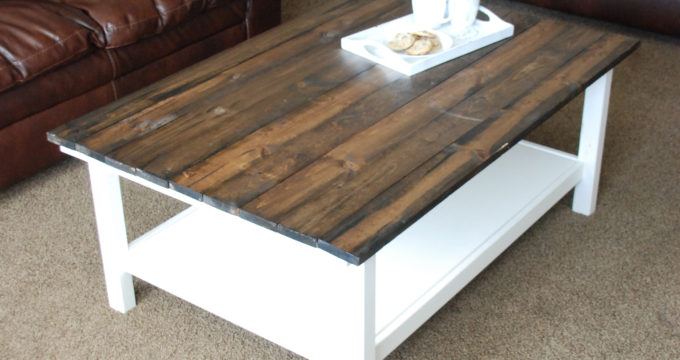 Ikea Hack- DIY Farmhouse Coffee Table