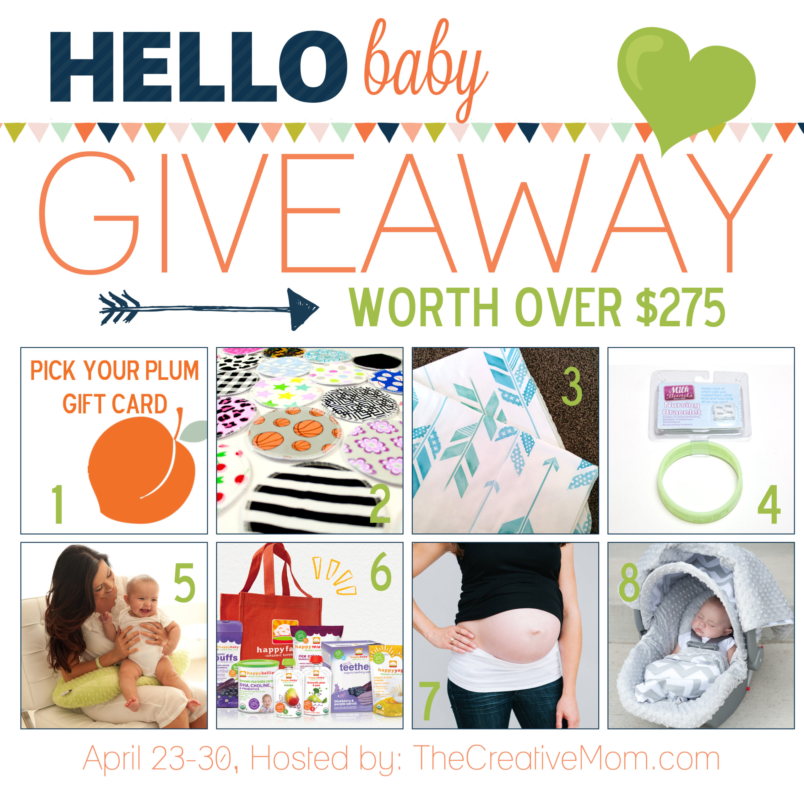 Hello Baby GIVEAWAY (worth over $415)