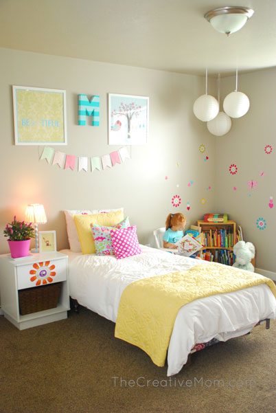 Whimsical Girl's Bedroom