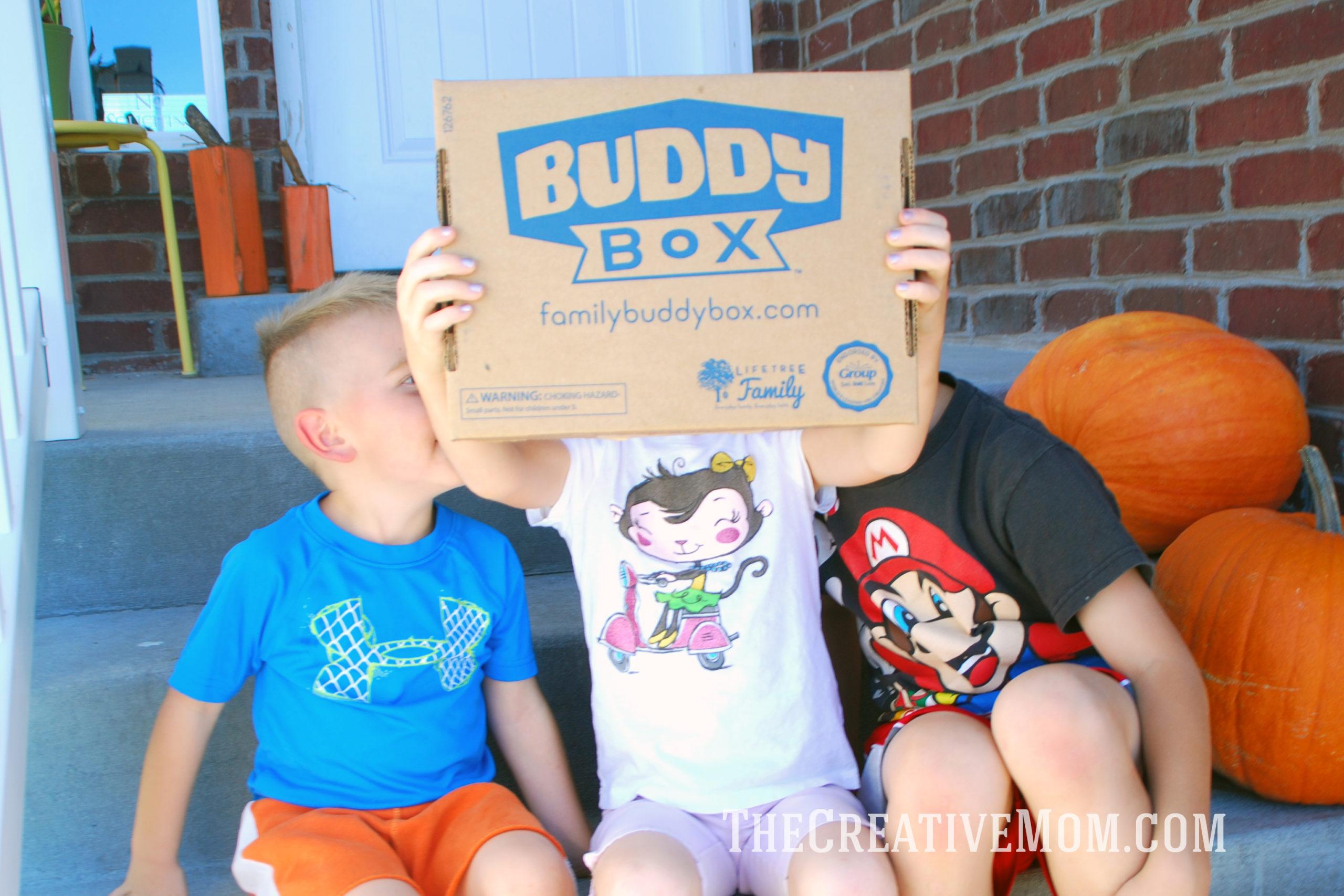 Teaching Kids Faith with Buddy Box