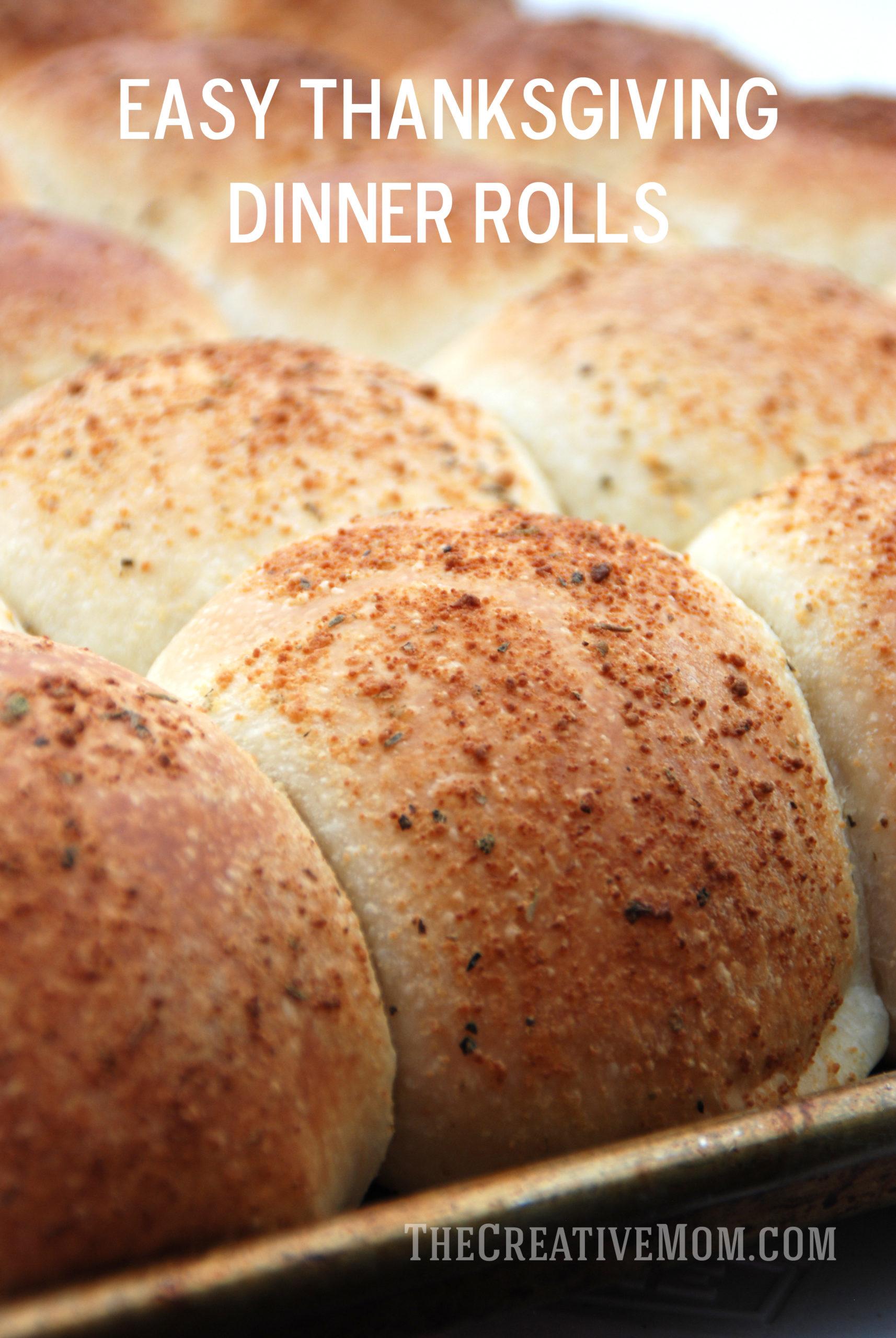 Easy Thanksgiving Dinner Rolls