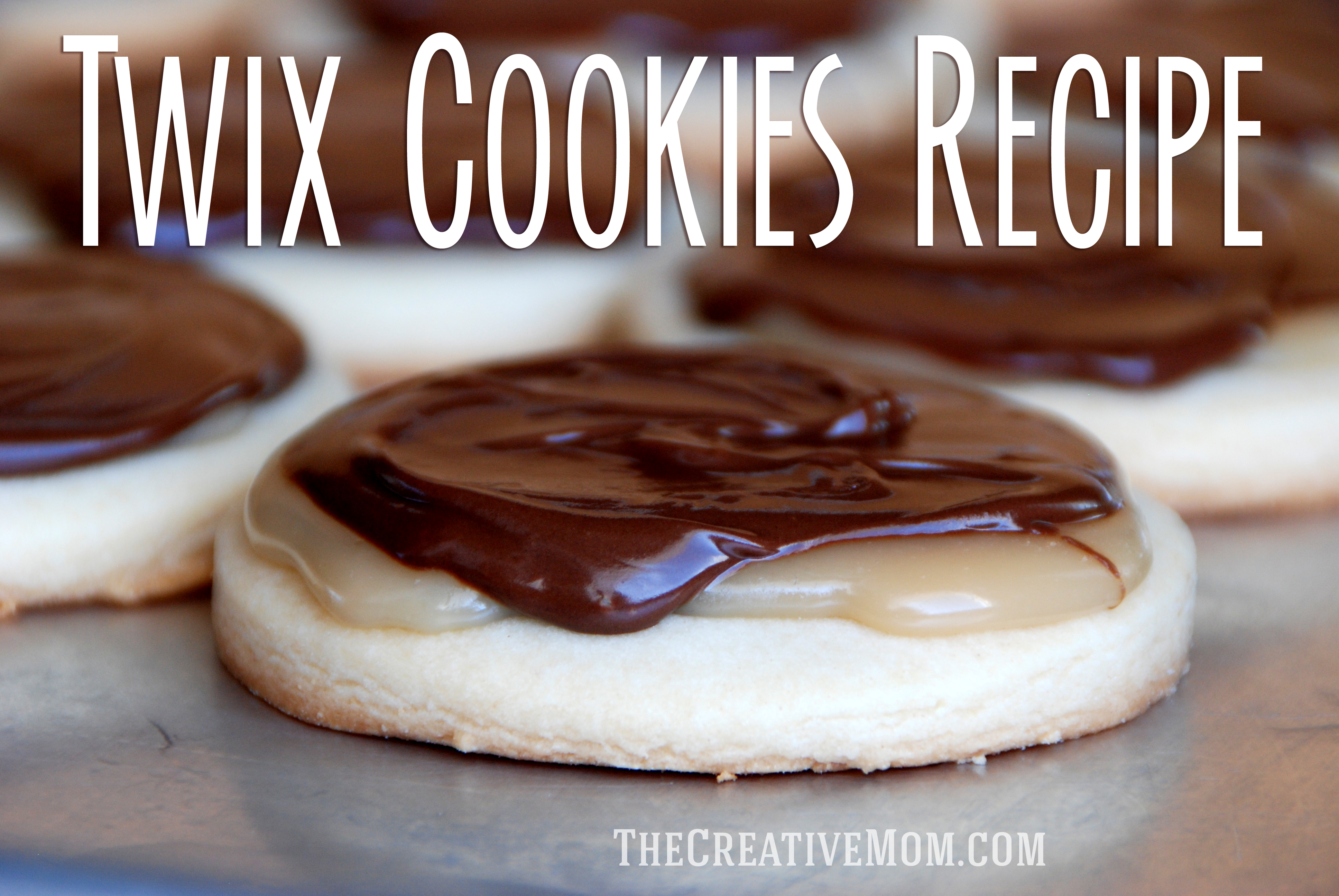 Homemade Twix Cookies Recipe