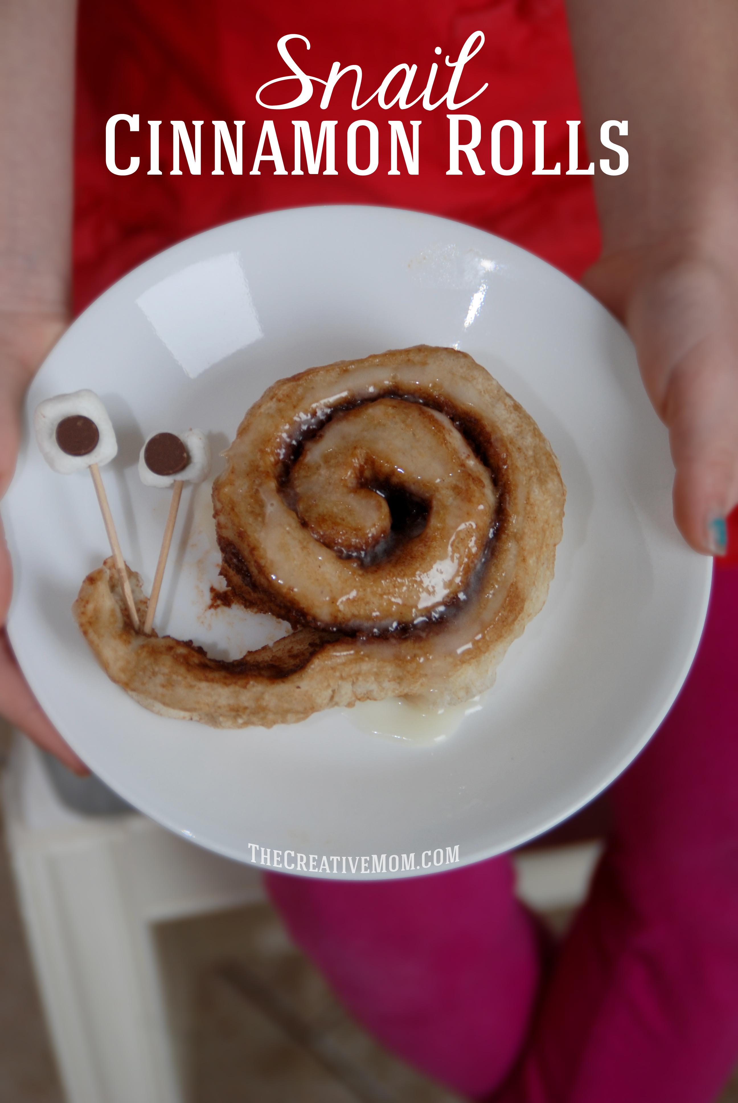 Snail Cinnamon Rolls