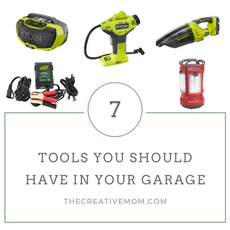 7 Tools You Should Have in Your Garage