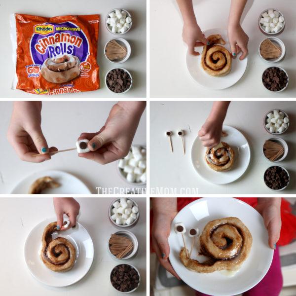 Snail Cinnamon Roll