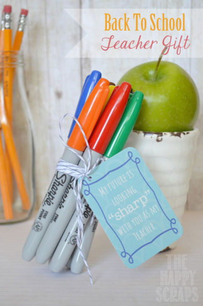 teacher gift sharpies