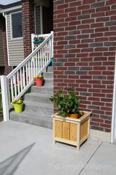front porch planter box