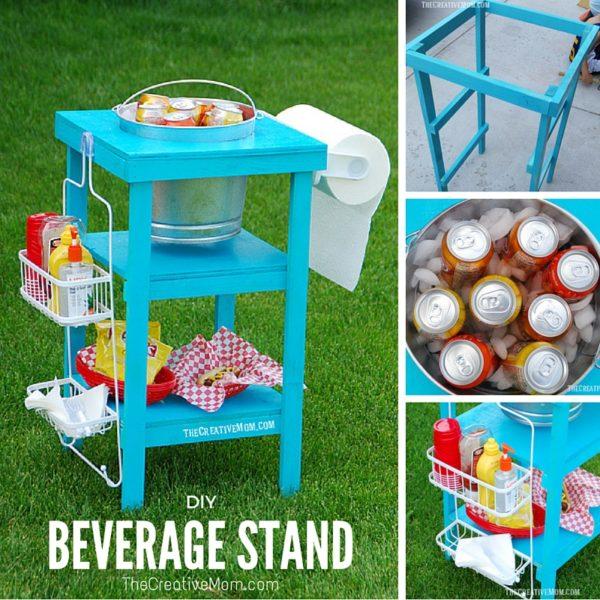 DIY Beverage Stand
