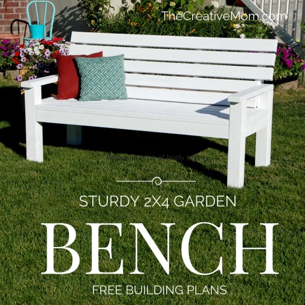 I Can T Wait To Show You This Great Bench Just Designed And Built Needed A For My Yard So Came Up With Cool Diy
