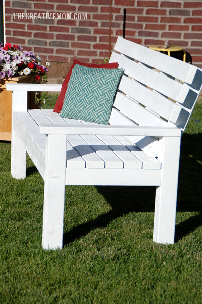 Diy Sturdy Garden Bench Free Building Plans The