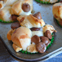 Smores Monkey Bread Muffins