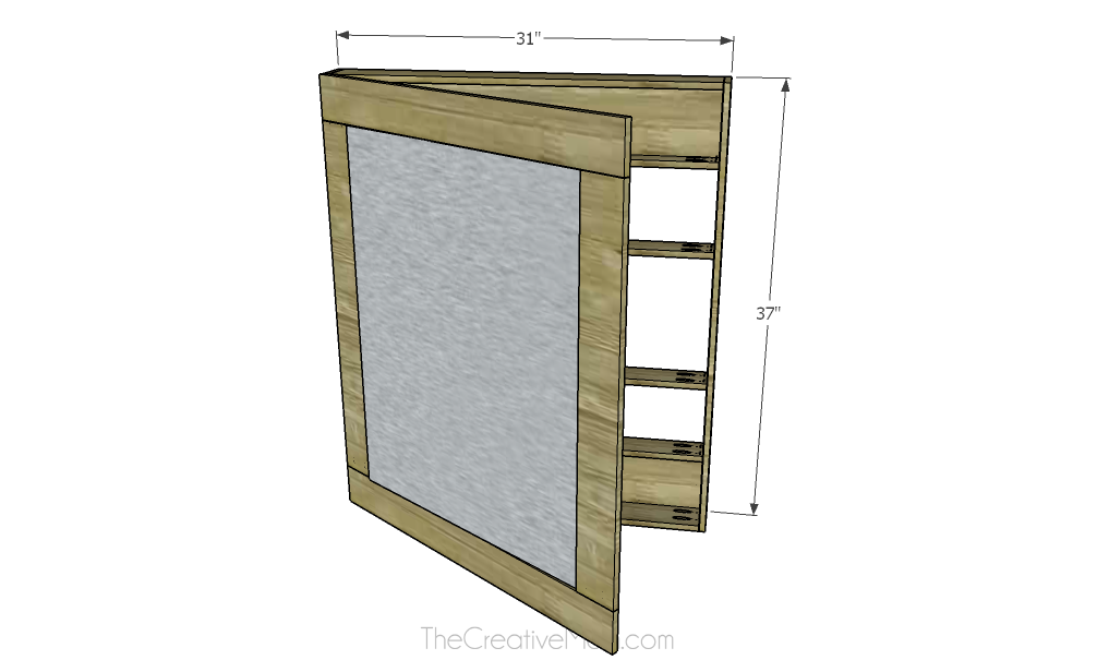 Jewelry Cabinet (free building plans)