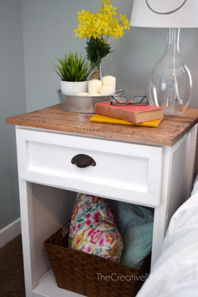 farmhouse nightstand