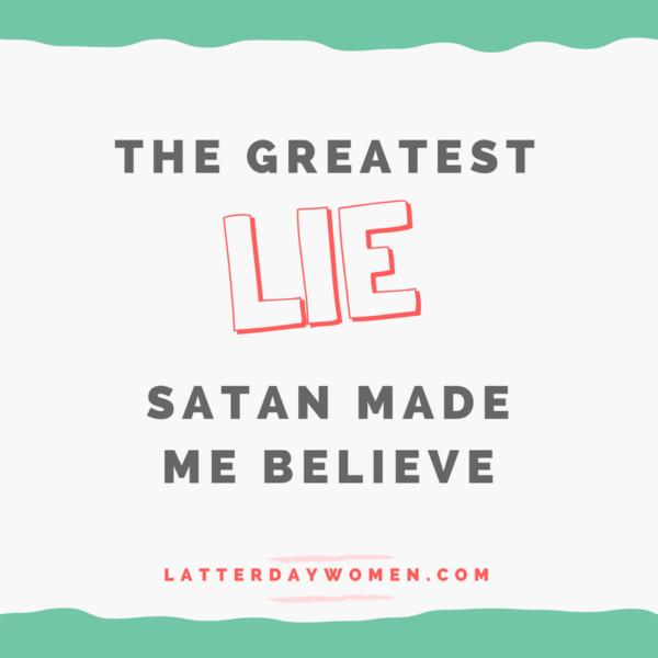 Satan's lie
