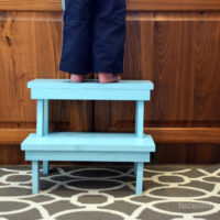 Simple Step Stool (free building plans)