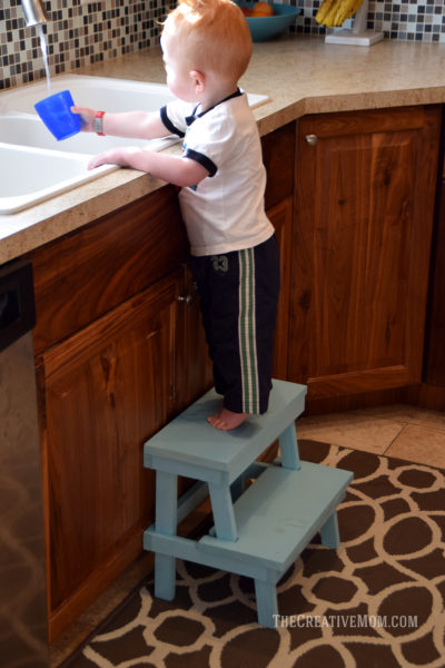 build step stool