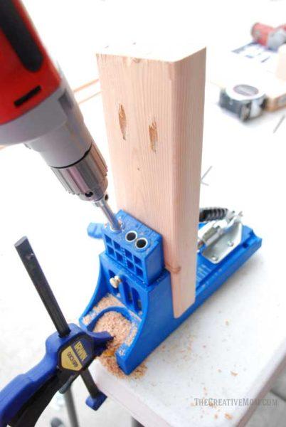 use kreg jig 2x4 bench