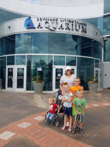 The magical thing that happened when I took my kids to the Aquarium