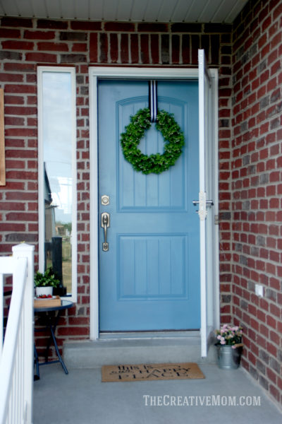 how to paint front door