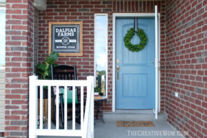 How to paint your front door (and add curb appeal)