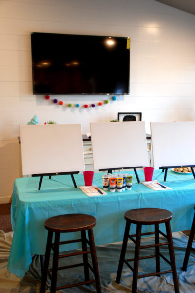 How to Host a Paint Night at Home