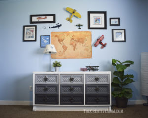 How to refinish a dresser with chalked paint