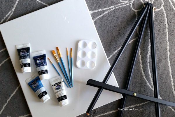 how to host paint night