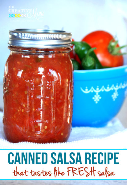 fresh canned salsa