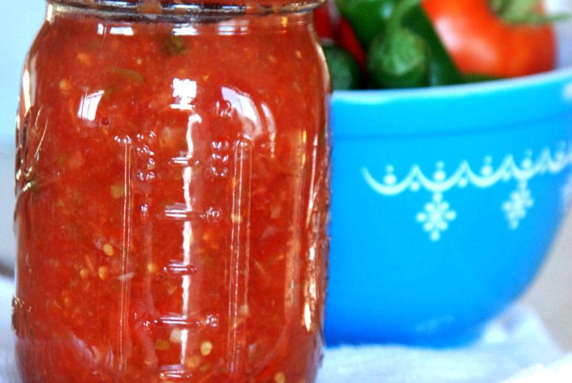 fresh canned salsa