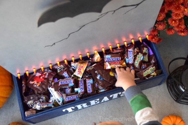 diy halloween candy holder