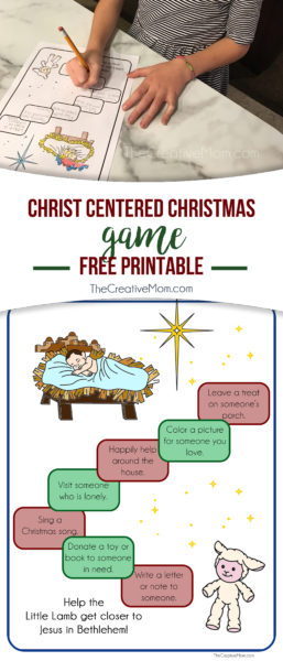 christ centered christmas game printable