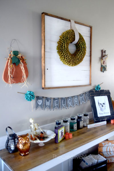 How to Build a Wreath Display Frame