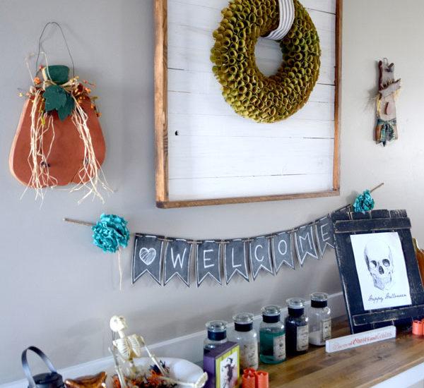 wreath display frame