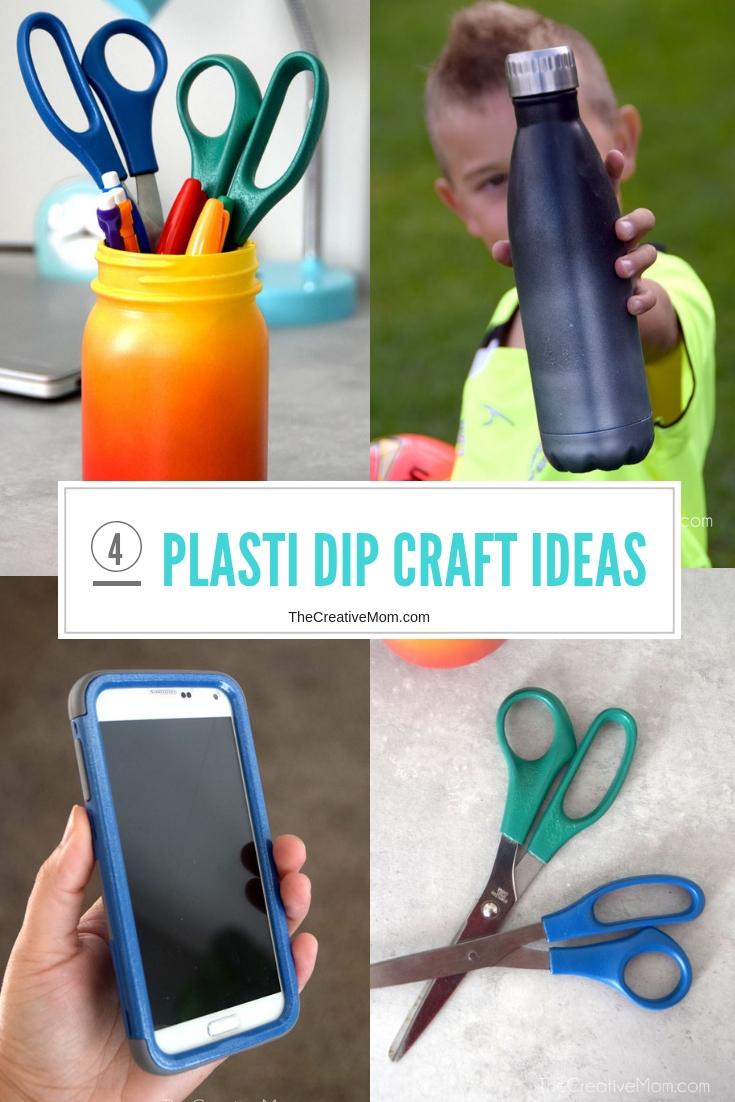 Four Plasti Dip Craft Ideas
